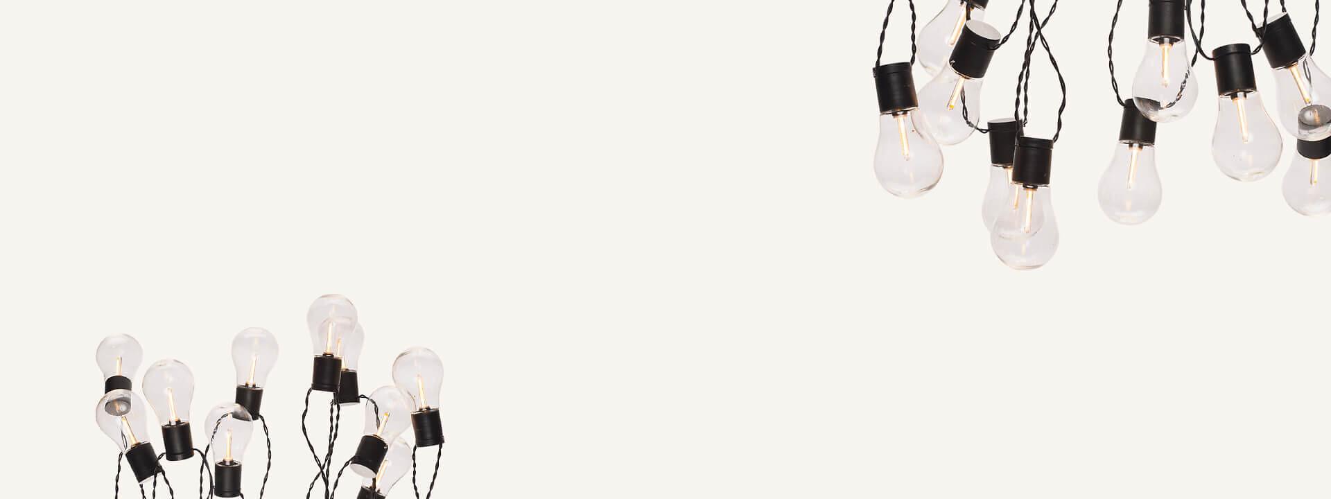 Led-valosarjat ulkokäyttöön